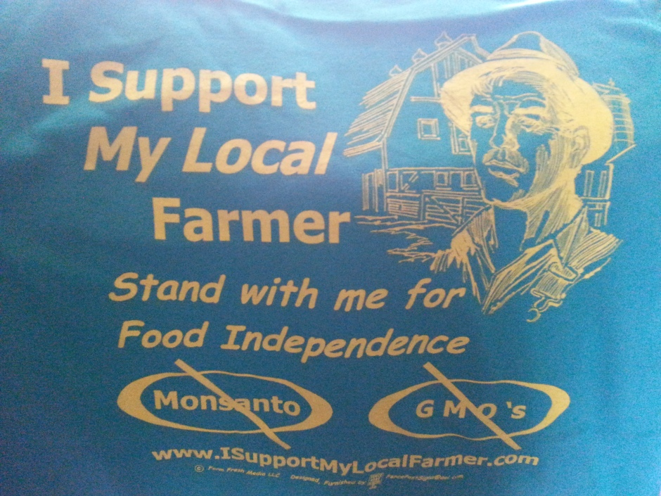 I Support My Local Farmer TShirt